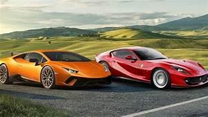 Ferrari Vs Lamborghini : 2017 lamborghini huracan performante vs 2018 ferrari 812 superfast youtube ~ Medecine-chirurgie-esthetiques.com Avis de Voitures
