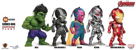 age of ultron iron the vision nations age of ultron iron earphone plugy series sf