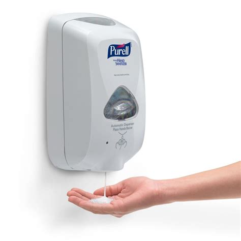 Automatic Touchless Handsfree Hand Sanitizer Dispenser ...