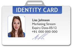 design  types  id cards  student id card
