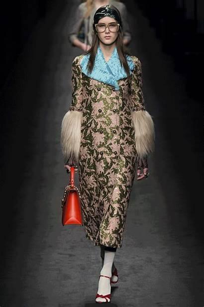 Gucci Fall Vogue Runway Coat Trends Winter
