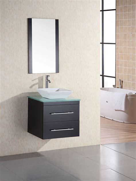 portland vessel sink vanity glass bathgemscom