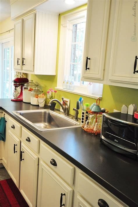 colorful kitchen open house