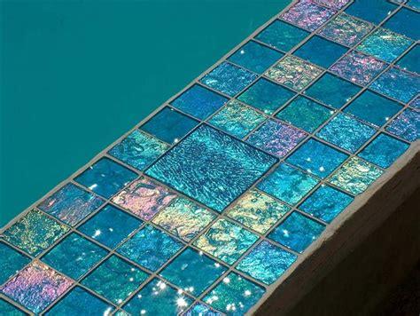lightstreams glass pool tile aqua blue