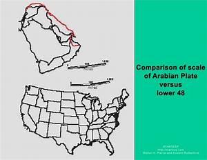 Arabian Plate Chronostratigrahic Maps