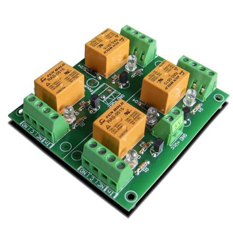 relay module 5v 4 channels for raspberry pi arduino