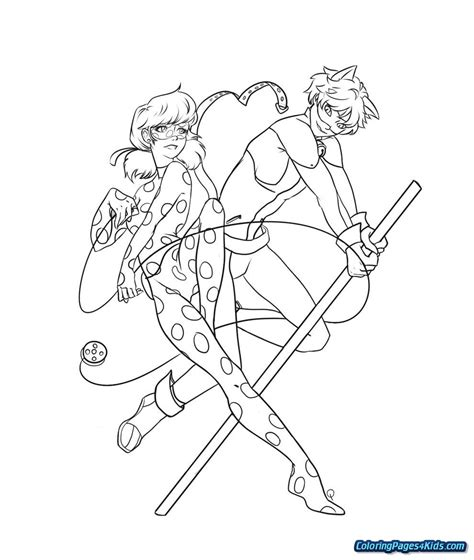 coloring pages  miraculous ladybug  printable