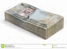 Stack of Bahrain Money stock photo Image of finance