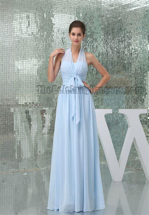 69989298c652 800 x 1157 www.thecelebritydresses.com. Light Sky Blue Halter Floor Length Prom  Gown ...