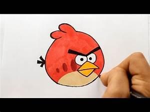 Wie Zeichnet Man Red Angry Birds Zeichen Tutorial YouTube