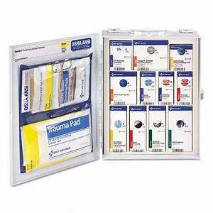fao90658 first aid only ansi 2015 smartcompliance food With kitchen cabinets lowes with inspection sticker ma cost