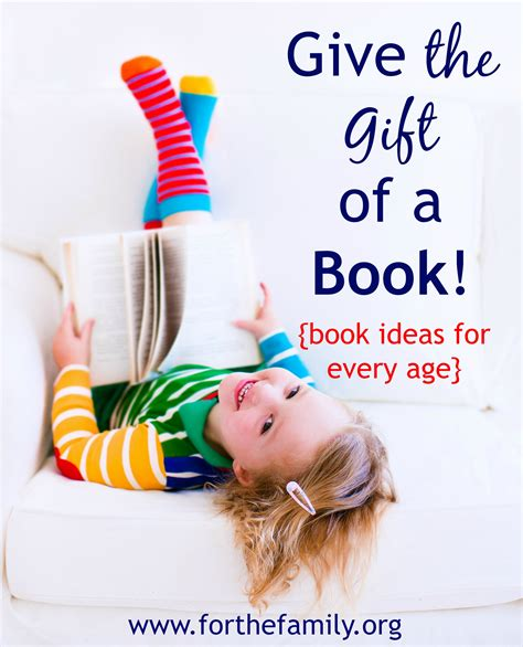 Give The Gift Of A Book {ideas For Every Age Child} For