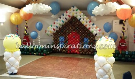 candy land themed party decorations