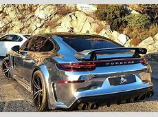 DUB Magazine Chrome Widebody 2018 Porsche Panamera Turbo