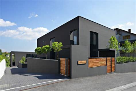 Fassade Weiß Anthrazit by Hausfassade Farbe Braun