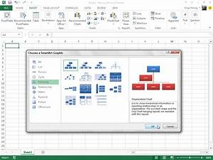 How To Use Smartart In Excel 2013