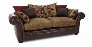Dfs perez sofa beds 3 seater pillow back for dfs sofa beds for Perez 4 seater pillow back sectional sofa