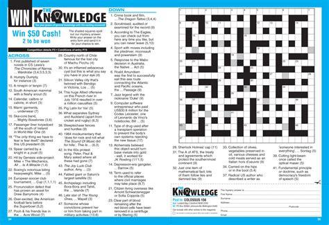 Colossus Crosswords Magazine