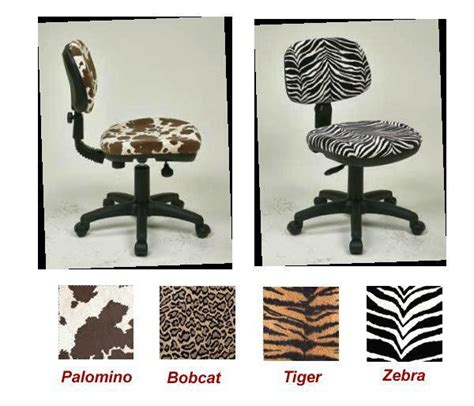 animal print desk chair palomino or zebra animal print swivel desk task office