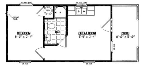 14x40 Shed Floor Plans by 14x40 Cabin Floor Plans Quotes Quotes