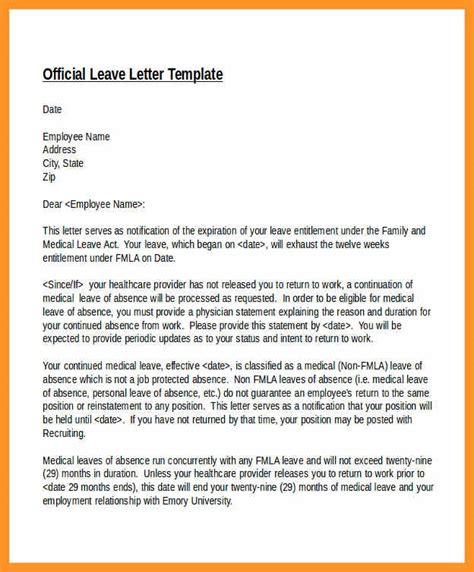 return to work letter template return to work letter sle bio letter format