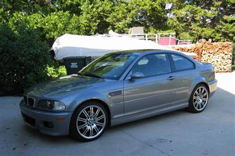 2003 bmw m3 coupe silver gray smg 19 inch wheels warranty sold vehicles ronsusser