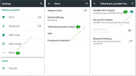 using phone as hotspot how to use android phone as a wifi hotspot