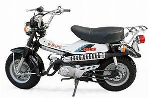Suzuki Van Van 50  Rv50  Model History