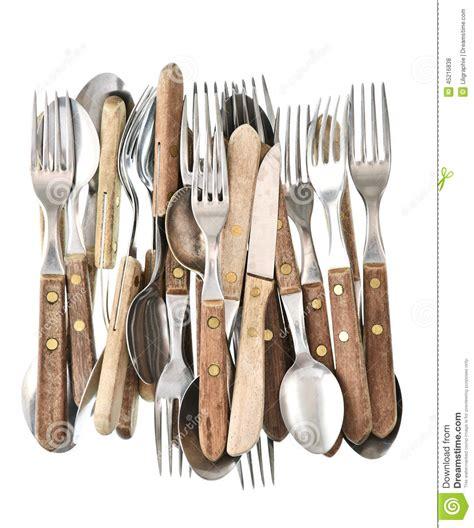 photos d ustensiles de cuisine couverts antiques rétro couteau fourchette et cuillère d