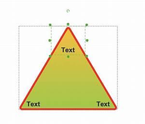 Creating Pyramid Diagram Quickly