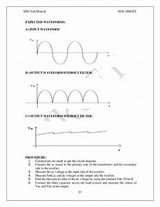 Electronic Devices And Circuits Manual