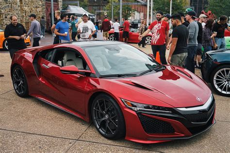 home layout we take the acura nsx to cars coffee gear patrol