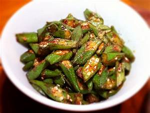 For Jane: fried okra chinese style | thebigfatnoodle