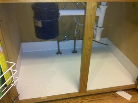 kitchen sink liner 42 sink leak tray it installed in your new 2768