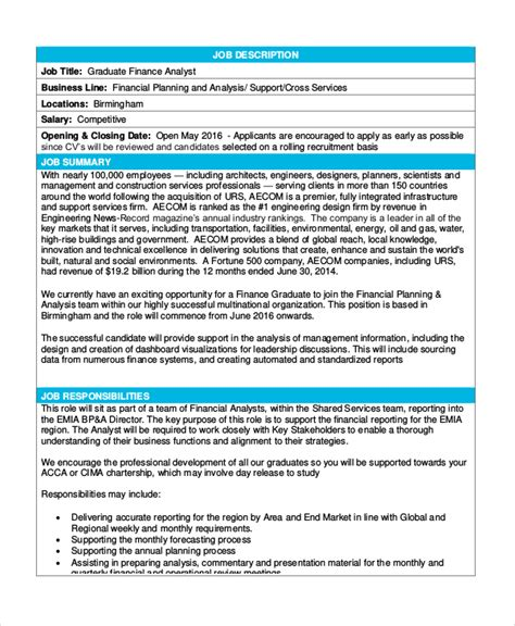 8+ Financial Analyst Job Description Samples  Sample. Resume References Format. Salary Template Word Pdf Excel. Cross Stitch Blank Grid. Web Design Business Cards Template. Printable Id Badge Template. Sample Equifax Credit Report Template. Sap Bi Resume Sample Template. Sample Manual Testing Resumes Template