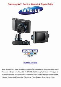 Samsung Nv11 Service Manual Repair Guide By Letha