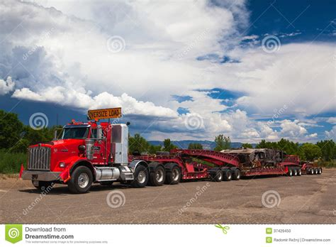 kenwood truck dealer the typical american red kenwood truck on a pa editorial