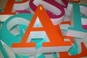 polystyrene letters With outdoor foam letters