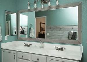 mirror frame kits for bathroom mirrors home design With mirror framing kits for bathrooms
