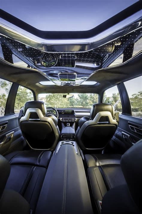 Upholstery Pictures by Kia Telluride Concept Makes World Debut At Detroit Kia Buzz