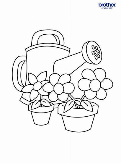 Coloring Colouring Mother Mothers Pages Center Printable