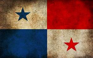 Flag Panama » Patterns » OldtimeWallpapers com - Antique