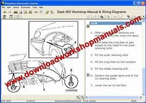 Saab 900 Service Repair Workshop Manual
