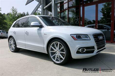 Audi Q5 With 22in Vossen Vfs1 Wheels Exclusively From