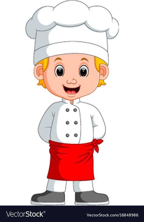 illustration  boy chef cartoon    preview