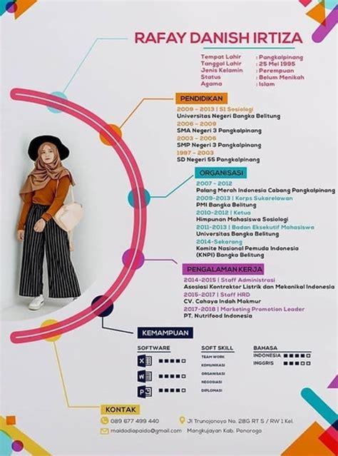 Apr 07, 2018 · contoh cv / daftar riwayat hidup yang kreatif dan unik. 7 Contoh Daftar Riwayat Hidup / Contoh CV (Curriculum Vitae)