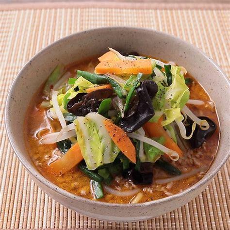 味噌 ラーメン 野菜 炒め