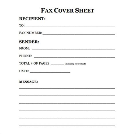 13717 basic fax cover sheet fax cover sheet template doliquid