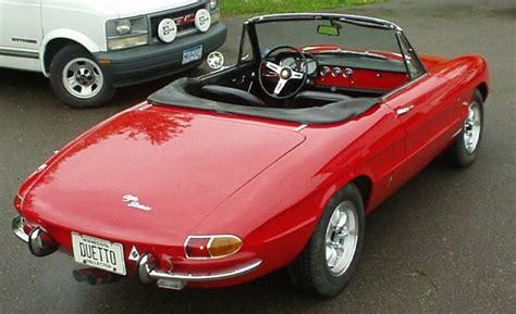 1966 Alfa Romeo Spider Photos, Informations, Articles