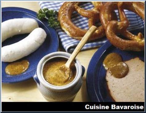 cuisine bavaroise quelles sont les spécialités typiques de la cuisine bavaroise